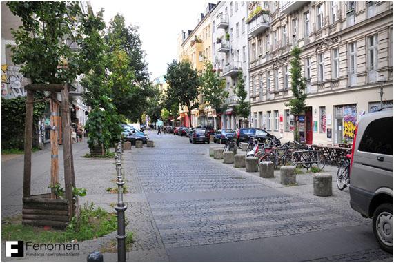 Calle pacificada Berlín